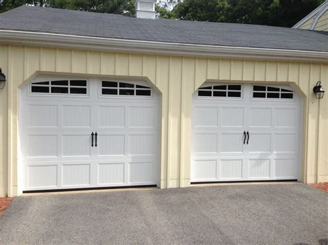 Haas Model 660 Steel Carriage House Style Garage Doors In Garage Doors Carriage House Style