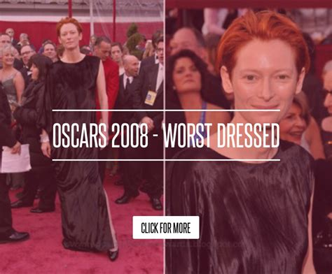 Oscars 2008 Worst Dressed by Oscars 2008 Worst Dressed