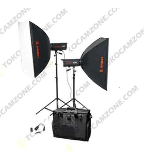 Paket Softbox paket studio jinbei ec v300 with softbox