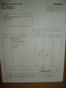 plumbing invoicememo templates word memo templates word