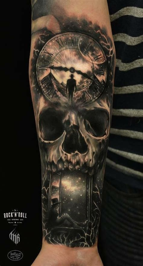 tattoo inspiration time 17 best images about skull x timepiece on pinterest