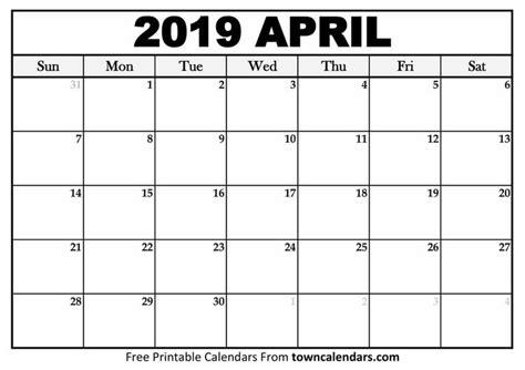 april  calendar  word page excel document