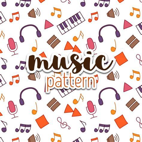 pattern music video music pattern design vector free download