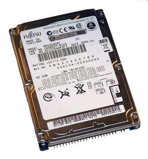 Hardisk Ata 40 Gb fujitsu mhv2040at 40gb 4 2k 2 5 quot ata ide disk drive f w 09de5a 000000a0 a 2
