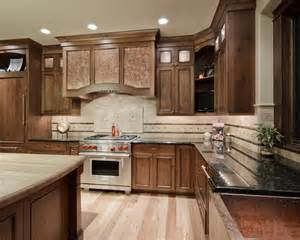 Recessed Kitchen Cabinets Wood Countertop Kitchen Design Ideas Remodels Photos With Recessed Panel Cabinets