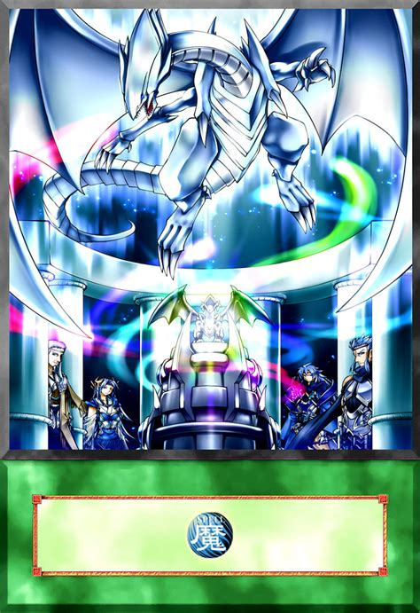 mausoleum of the blue eyes white dragon anime by