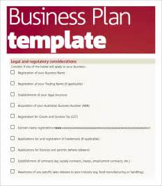 Sle Business Plan Template Word by Business Plan Template Pdf Free Business Template