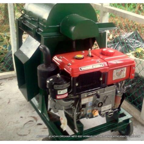 Mesin Yanmar pencacah sah organik mpo 850 hd mesin yanmar