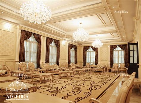 luxury palace interior in abu dhabi