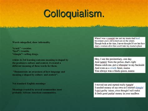 colloquial russian 2 colloquial image gallery colloquialism exles