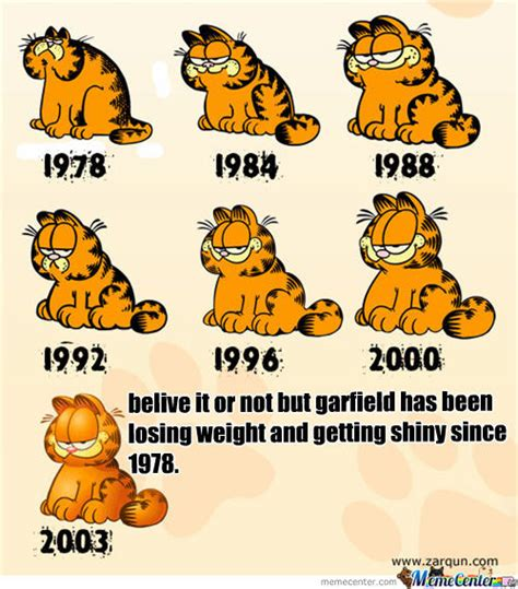 Garfield Memes - garfield losing weight by looky556 meme center