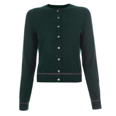 Sweater Hoodie Smth 1 paul smith s green cardigan in green green lyst