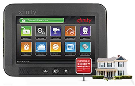 comcast xfinity home security automation systems