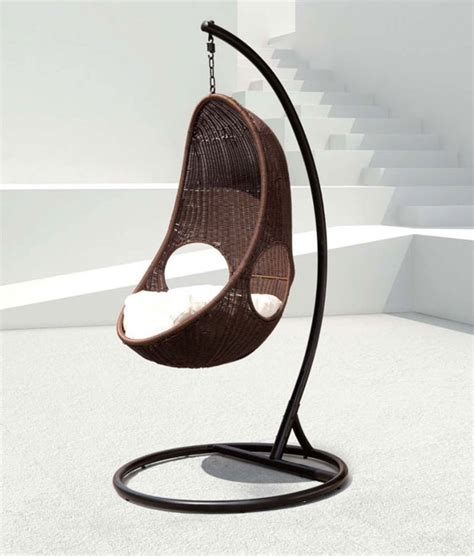 indoor swing chair 7 cool swing chairs for indoor and outdoor design swan