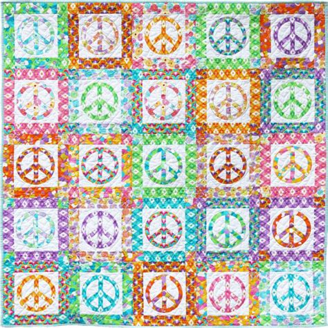 Peace Quilt Pattern by Peace Quilt Pattern