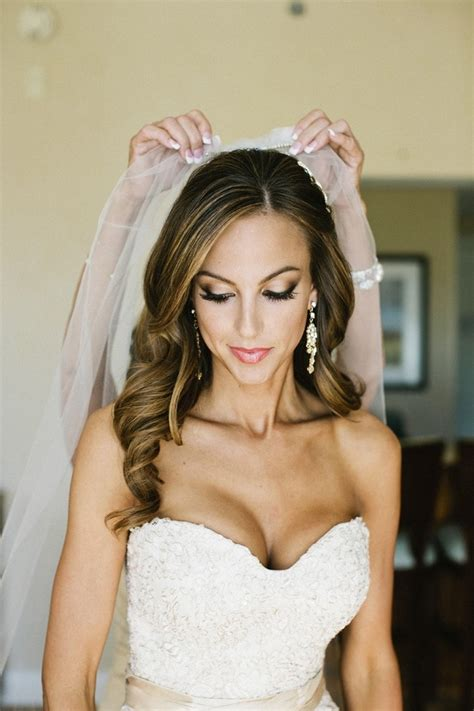 hairstyles down with veil bridal hairstyles for long hair half up with veil