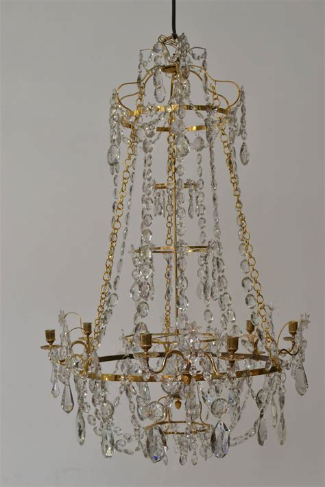 swedish chandelier important swedish gustavian quot haga quot chandelier signed by olof westerberg at 1stdibs