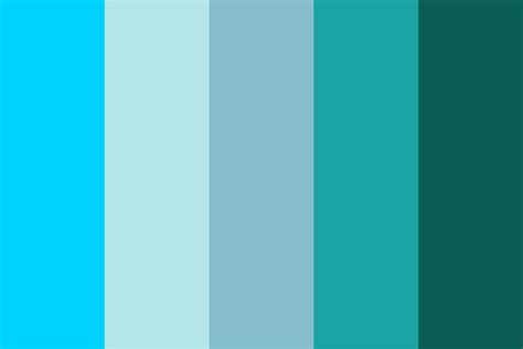 color palette blue collectivr color palette