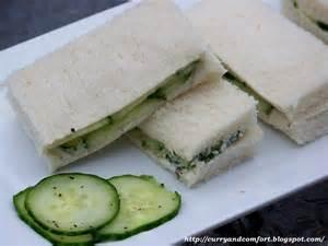 kitchen simmer tea sandwich series cucumber sandwiches