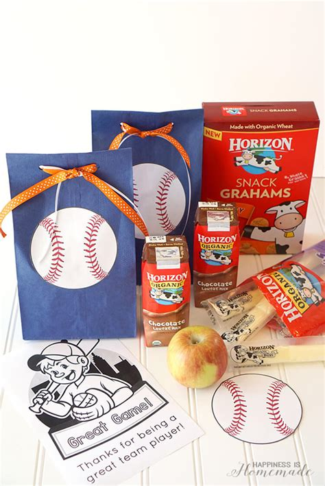 best christmas gifts for teen baseball players easy baseball team snack idea happiness is