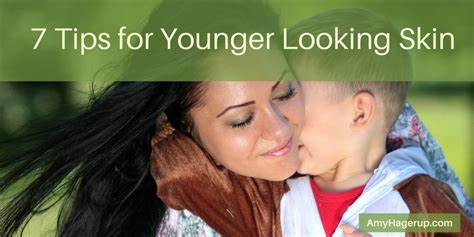 7 Tips On Looking Younger by Stories To Grow By Who Are You Following The Vitamin
