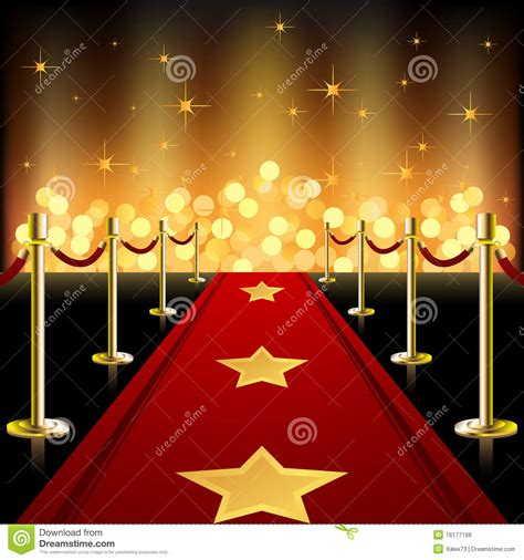 roter teppich carpet stock vector illustration of glittering
