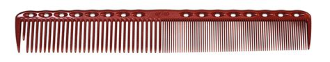 Ys Park 337 Tooth Cutting Comb Camel ys park 337 cutting hair comb precision shears