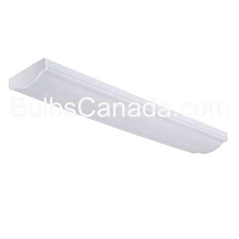 designer wraparound t8 fluorescent fixture