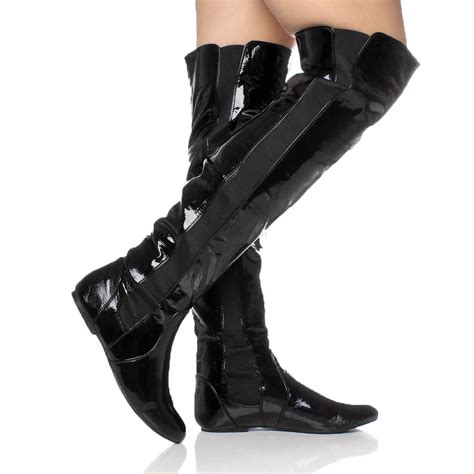 the knee stretch boots womens high the knee elastic stretch pull on