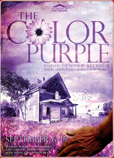 color purple and book differences regional theater of the week south bend civic theatre in