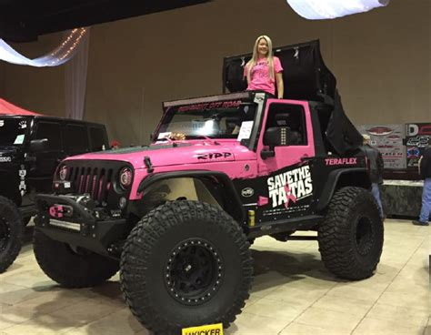 jeep pink that pink jeep offroad