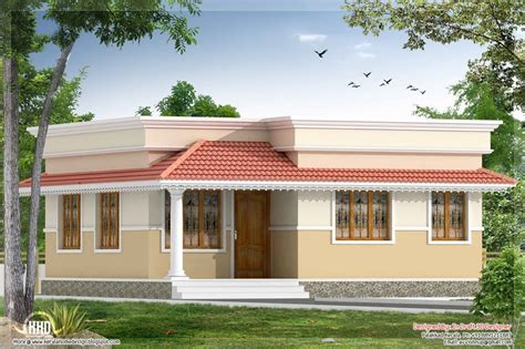 small inexpensive house plans home design kerala style bedroom small villa in sqft