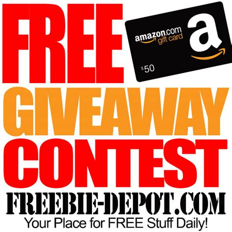 Free Giveaway Contests - enter to win a 50 amazon gift card ends 9 15 15 blog giveaway directory