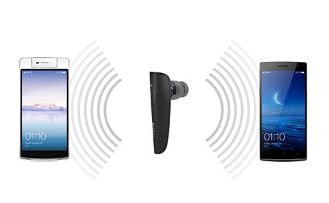 Headset Bluetooth Oppo White mix bluetooth headset the fit standby