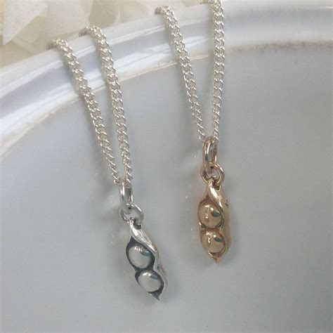Two Peas In A Pod Jewelry - two peas in a pod necklace by suzy q designs