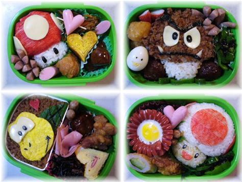 Some Sushi Mario Style With The Mario Bento Boxes by Supersizedmeals Mario Bento