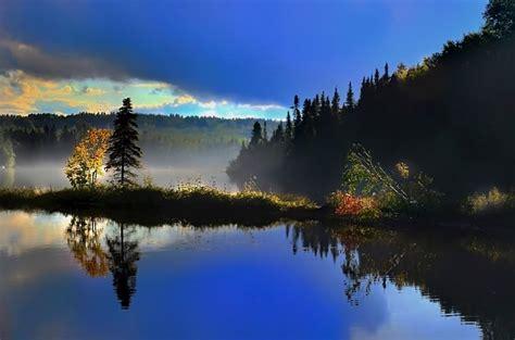 landscape reflections lake  photo  pixabay