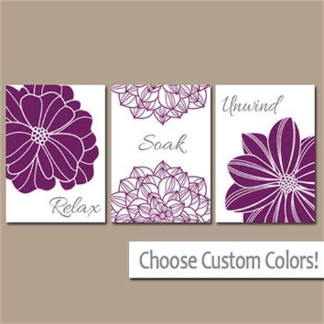 purple bathroom wall decor best relax soak unwind products on wanelo