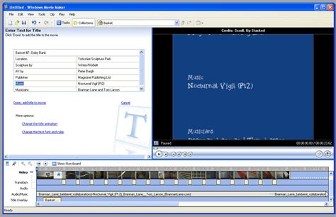 windows movie maker windows xp full version free download creating a slide show with windows movie maker