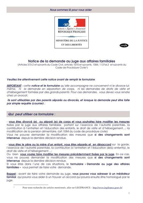 formulario lettere avvocato calam 233 o notice de la demande au juge aux affaires familiales
