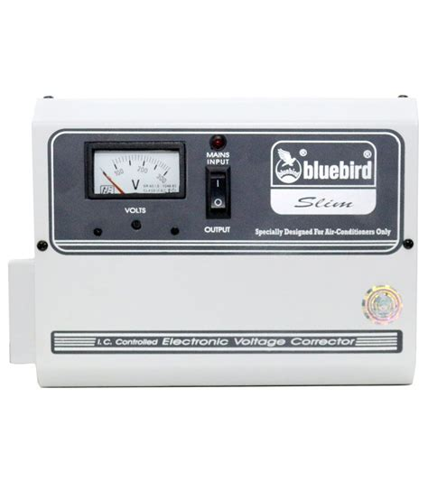 bluebird 4 kva 140v voltage stabilizer for ac upto 1 5