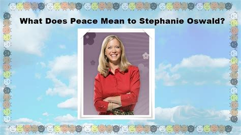 What Does Winning Money In A Dream Mean - what does peace mean to stephanie oswald good news planet tv