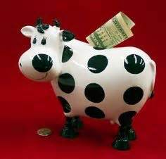 cow money bank 7 quot pink bobblehead seahorse piggy bank sea gifts