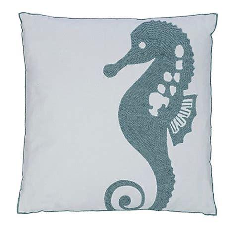 bed bath and beyond maui levtex home blue maui seahorse throw pillow bed bath