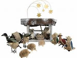 aussie nativity scene eco at home