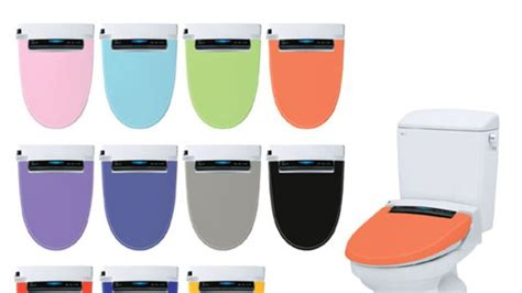 Toilet That Sprays Your Bottom Inax Bidet Toilet Seats Spray Your In Living Color
