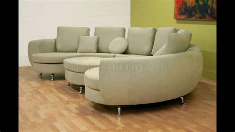Half Sofa by Half Moon Sectional Sofa