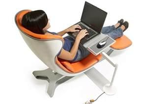 Modern Ergonomic Computer Chairs Sweet Home Design Orange Office Chair Canada