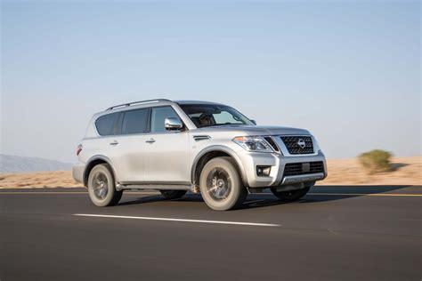 2017 nissan armada platinum test review motor trend