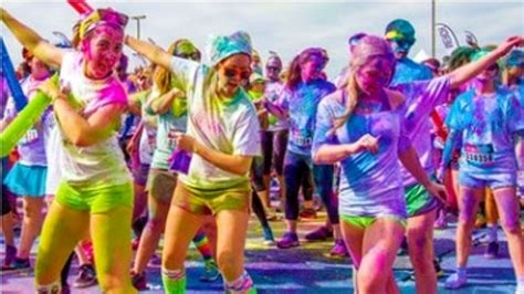 color run dalla color run mogliano 2017 i fondi per l assistenza